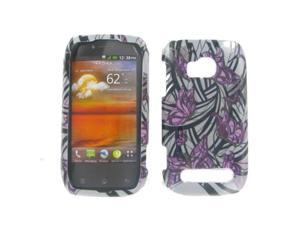 Nokia 710 (Lumia) Purple Butterfly Protective Case