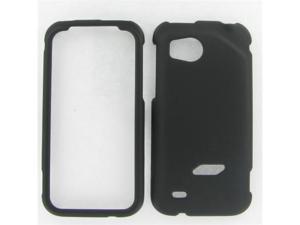 HTC ADR6425 (Rezound) Black Rubber Protective Case