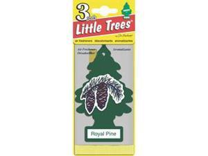 Multi-Pack Little Tree Air Fresheners - 3-Pack  Dk. Green  Royal Pine Scent