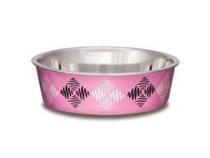 Bella Bowl Argyle Pink Large