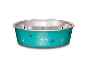 Bella Bowl Dragonfly Turquoise Large