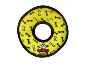 Tuffy's Ultimate Ring - Yellow Bone Chew Toy