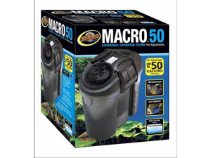 Macro 50 External Canister Filter Up To 50 Gal