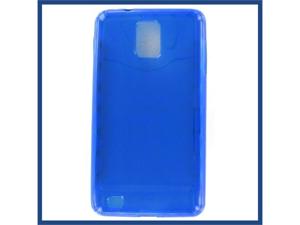 Samsung Infuse 4G Crystal Blue Skin Case