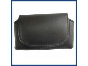 Universal horizontal Black Pouch For Sidekick Slide Size