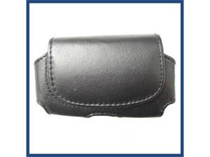 Universal horizontal Black Pouch For Samsung I997 (Infuse)