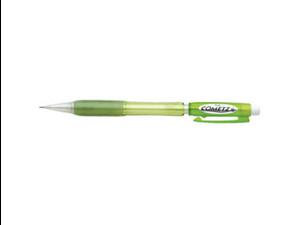 Pentel AX119K Cometz Mechanical Pencil, #2, HB Pencil Grade - 0.9 mm Lead Size - Light Green Barrel - 1 / Each