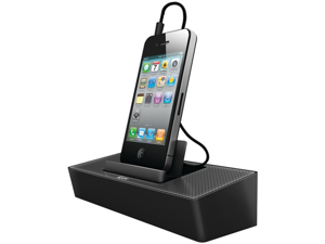 ILUV ISP125BLK MODERNBOX PORTABLE SPEAKER STAND