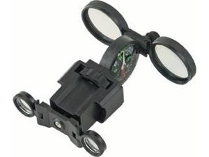 Compass w/ Glasses & Magnify Glass Black