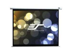 """Elite Screens Electric100V Spectrum Ceiling/Wall Mount Electric Projection Screen (100"""" 4:3 Aspect Ratio) (MaxWhite) - 78"""" x 84"""" - Matte White - 100"""" Diagonal"""