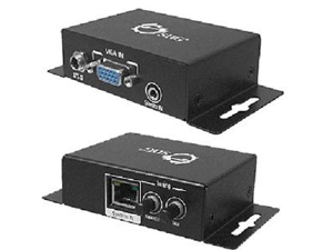 SIIG Video Console/Extender - 1 Input Device - 1 Output Device - 1000 ft Range - 2 x Network (RJ-45) - 1 x VGA In - 1 x VGA Out - WUXGA - 1920 x 1200 - Twisted Pair - Category 7
