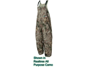 Camo Pro Action Rain Bib Realtree Xtra Medium