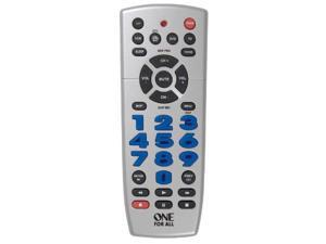 UNIVERSAL REMOTE               4 DEVICE BIG BUTTON