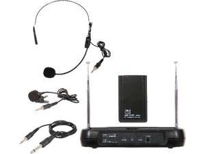 VHF Wireless Microphone Triple Play Headset/Lav/Guitar 174.8MHz
