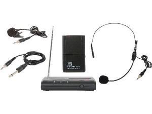 VHF Wireless Microphone Triple Play Headset/Lav/Guitar 174.1MHz