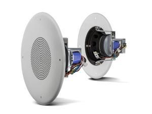 Ceiling Speaker with Grill 4in Dual Cone 8ohm / 70V