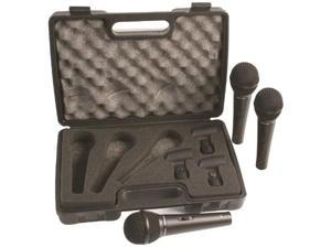 Dynamic Microphone - Three Pack with Case