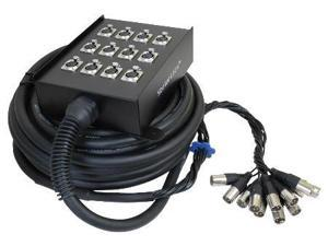 12 Channel 32 Ft Xlr Cable Snake