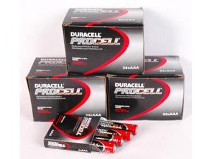 "Procell ""AAA"" Alkaline Battery 72 Count Bulk Pack"