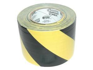 "4"" Black/Yellow Tunnel Tape"
