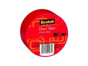 "Scotch® 920 Cherry Red Duct Tape - 1.88"" x 20 Yard Roll"