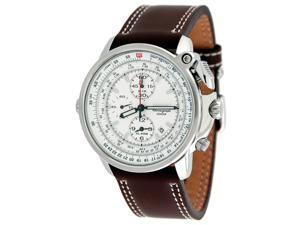 Seiko Flightmaster Pilot Silver Watch SNAB71P1