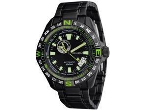 Seiko Superior Automatic Black/Green Watch SSA097K1