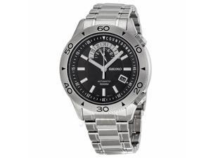 Seiko Men's SSA181 Super Automatic Black Watch
