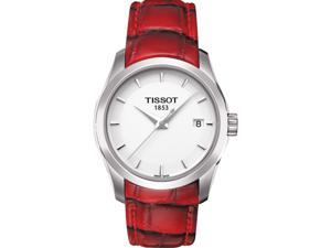 Tissot Women's T0352101601101 Couturier White Watch