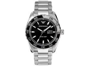 Armani Sportivo Silver Watch AR6047