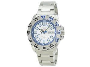 Seiko 5 Sports Silver Watch SRP481K1