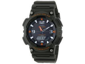 Casio Men's AQ-S810W-3AV Ana-Digi Black Watch
