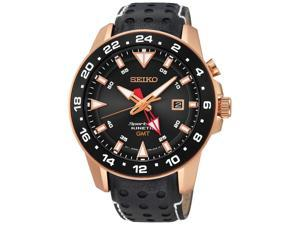 Seiko Men's Sportura SUN028P1 Black Watch