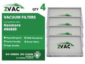 Kenmore ZVac 86889 HEPA Filter (4 pack)