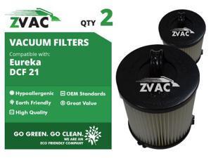 ZVac Eureka DCF21 Washable Filter 68931 2 Pack