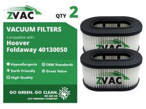 ZVac Hoover Foldaway Filters (2 Pack) 40130050