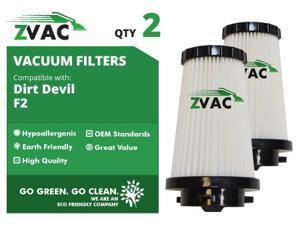 ZVac Dirt Devil 2 Pack F2 Filters 3SFA11500X UPC 608939746770
