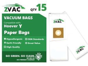 Hoover Type Y ZVac Vacuum Bags (15 Pack)