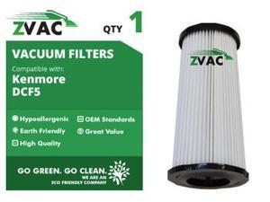 ZVac Kenmore DCF-5 Washable HEPA Filter 618683