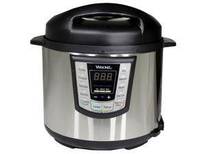 Versonel 6 Quart Programmable 6 in 1 Electric Pressure Cooker 6Qt/1000W Stainless Steel VSLPC60