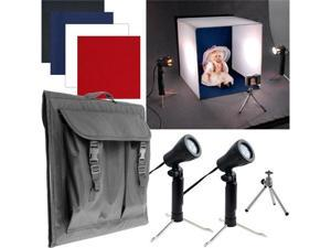 Table Top Photo Studio - Photo Light Box with Four Backgrounds