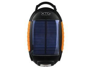 Solar Portable Battery Pack with Flashlight and Lantern - Ideal for Charging iPhone, iPod, MP3, Droid, Smartphones, and Other USB Powered Devices