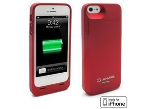 Lenmar Meridian 2200mAh Battery Case for iPhone 5 (Red)