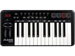 Alesis QX25 USB/MIDI 25-Key Controller w/ Faders - New