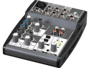 Behringer Xenyx 502 5-Input 2-Bus Mixer PA Mixer
