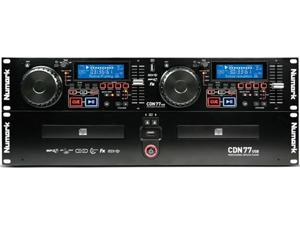 Numark CDN-77-USB Dual USB and MP3 CD Player MP3 Capable Dual CD Player