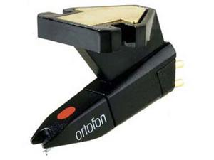 Ortofon OM Pro S Single Black body & stylus spheri Standard Phono Cartridge