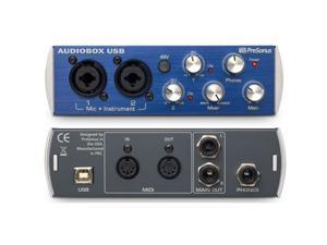 PreSonus AUDIOBOX-USB 2-Ch USB Audio Interface USB Audio Interface