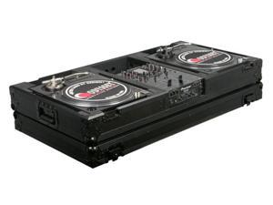 Odyssey FZBM10W-BL 10In Mixer / Turntable Case Battle Style 10 Inch DJ Mixer Coffin