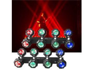 Chauvet Beamer 8 2-in-1 RGB LED Effect Light 2 Pak